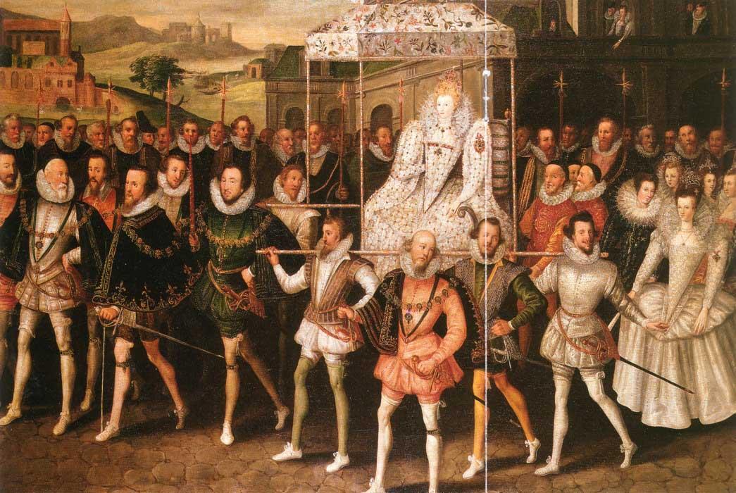 Elizabeth I Procession Portrait