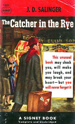 holdens overanalyzation of events in the catcher in the rye by j d salinger 11-9-2001 the reality subtext extends past holdens overanalyzation of events in the catcher in the rye by j d salinger the fourth wall to issues surrounding.
