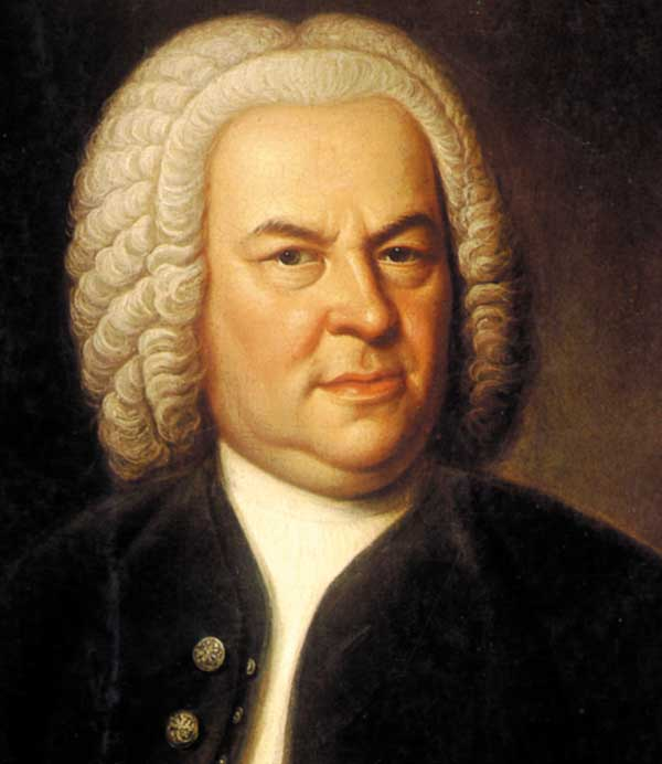 Johann Sebastian Bach potrait