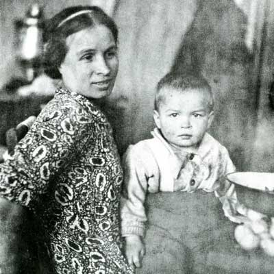 Nureyev with mother Farida