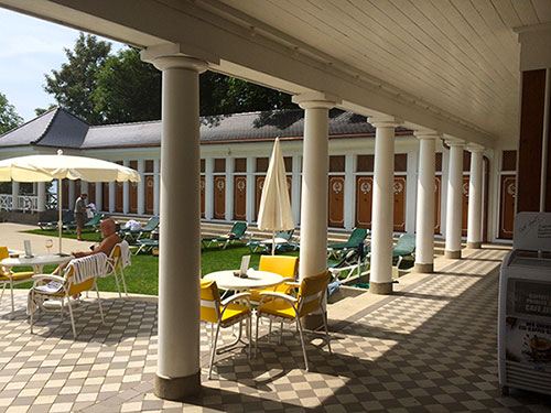 Bad Schachen spa resort