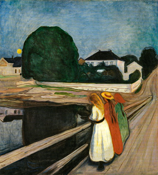 Girls on the Bridge,1899 - Edvard Munch