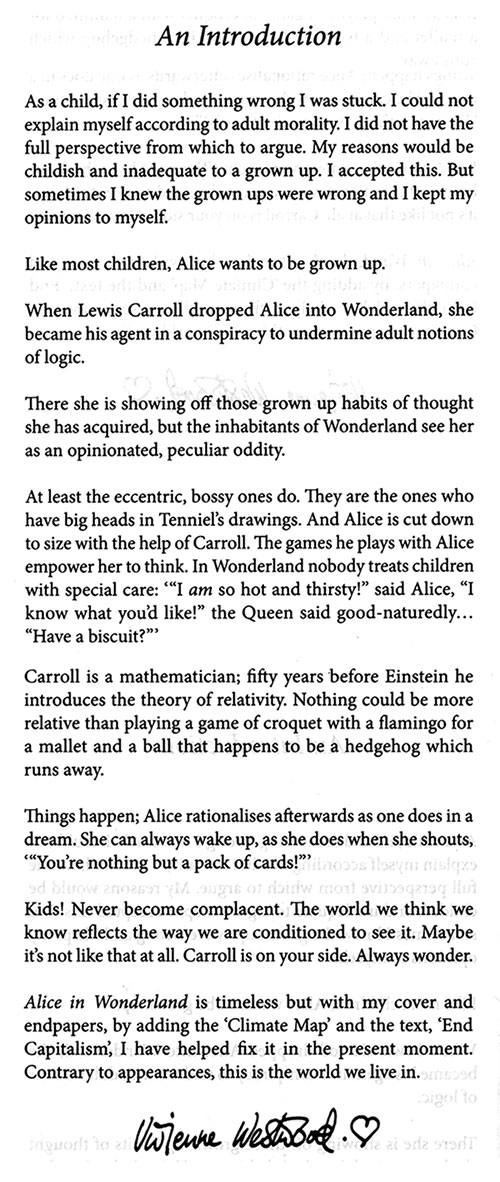 Alice in wonderland essay introduction