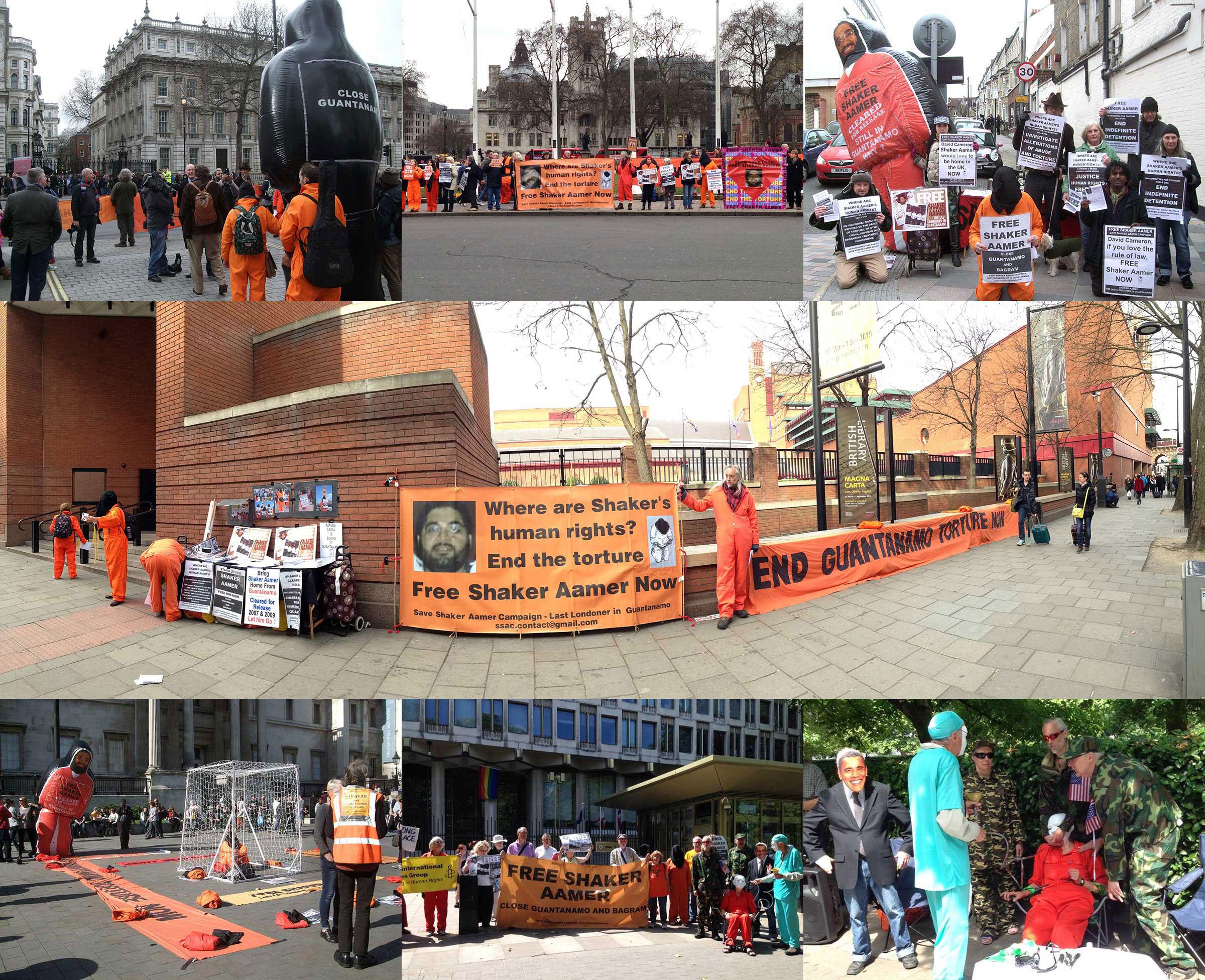 Shaker-Aamer-protest