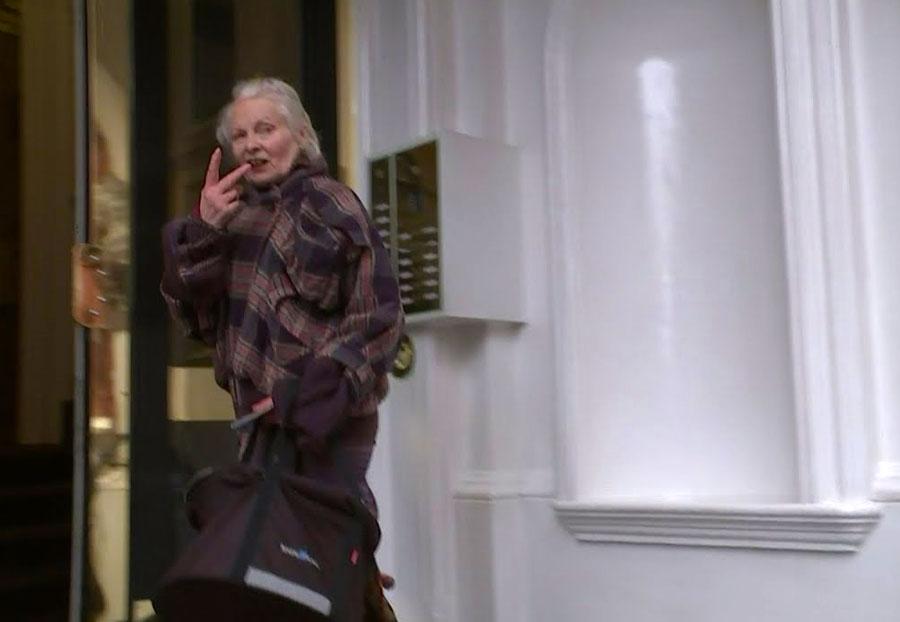 Vivienne Westwood - Julian Assange