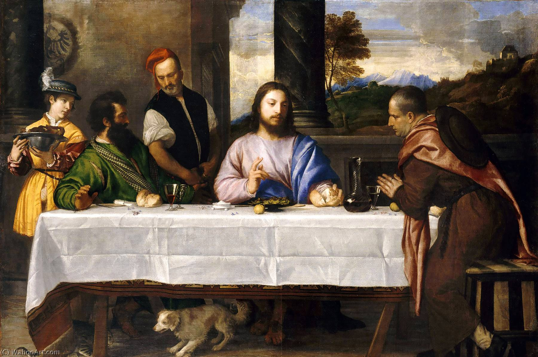 Supper-at-Emmaus-by-Titian