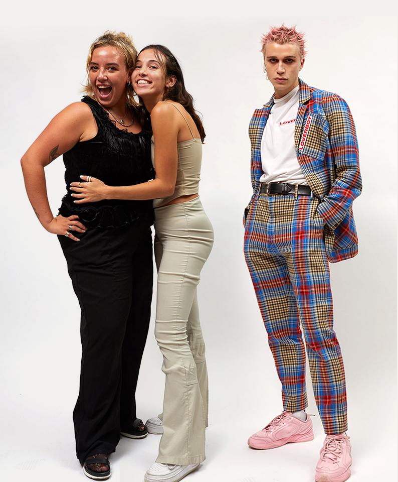 Julian, Taylor and Marina