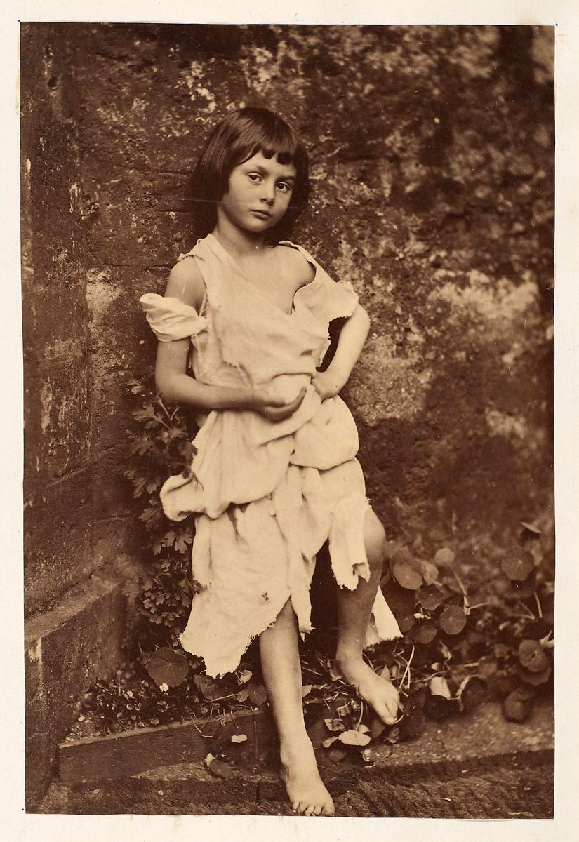"Alice Liddel - ""The Beggar Maid"""
